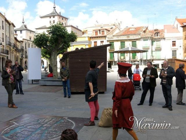 Plaza Mayor y visita teatralizada