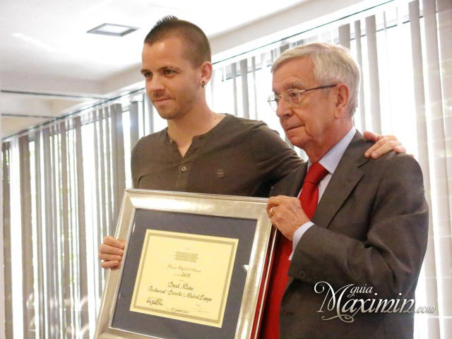 Rafael Ansón y David Muñoz