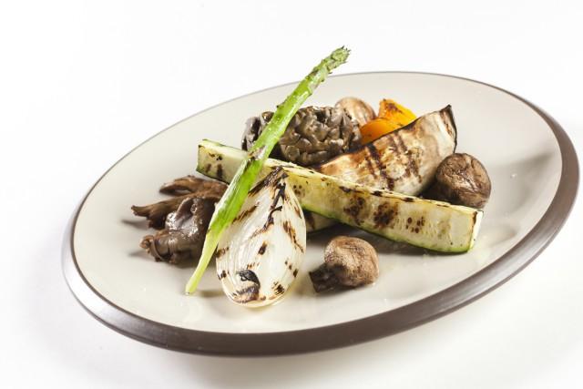 Verduras a la brasa de carbon de encina MUSSOL optimizada