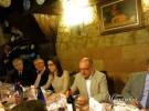 alcaldesa de Aranda de Duero y autoridades