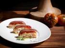 Anchoas elaboradas en Cantabria con tomate y pan de cristal_Casona del Judío (1)