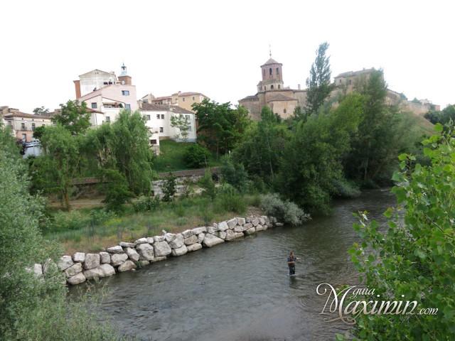 El Duero por Almazán