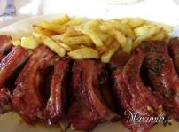 costillas de cerdo con patatas