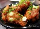 alitas de pollo con salsa kimchi