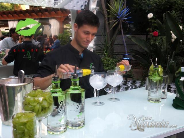 elaborando el perfecto gin tonic