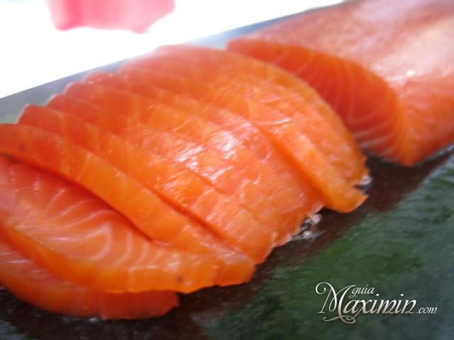 lomo de salmón de ahumados Domínguez