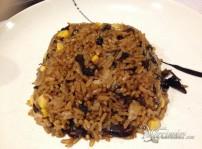 arroz frito con setas