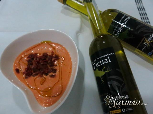 salmorejo-arbequina y picual