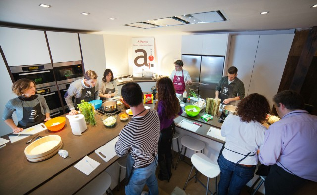 Curso de cocina en planta baja A Punto