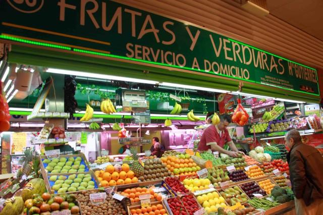 Frutería Mercado Chamberí