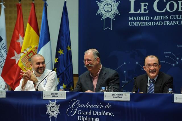 Pedro Subijana, padrino de una nueva promoción de Le Cordon Bleu Madrid