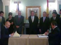 Jaime Garci¦üa-Legaz, Presidente de Filipinas Beningno Aquino y Ramo¦ün R Jimenez