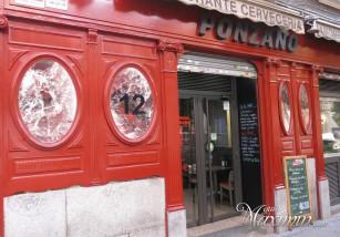 Disfrutando de la casquería en Ponzano (Madrid)