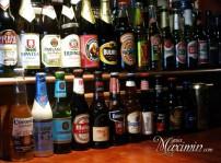 amplio surtido de cervezas