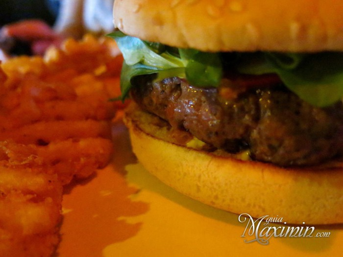 hamburguesa con trufa negra