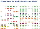 Frutas y verduras de aquí y ahora, consume productos de temporada