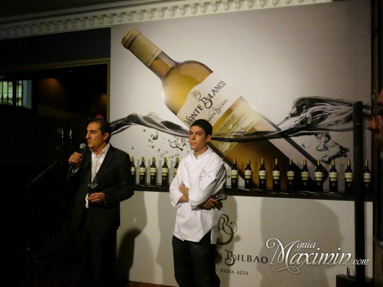 Ramón Bilbao presenta Monte Blanco 2014