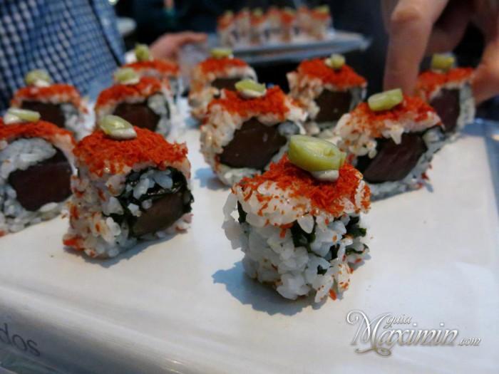 futo-maki de atun rojo