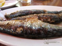 sardinas plancha