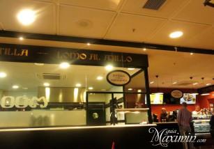 Desayunar en el aeropuerto de Madrid
