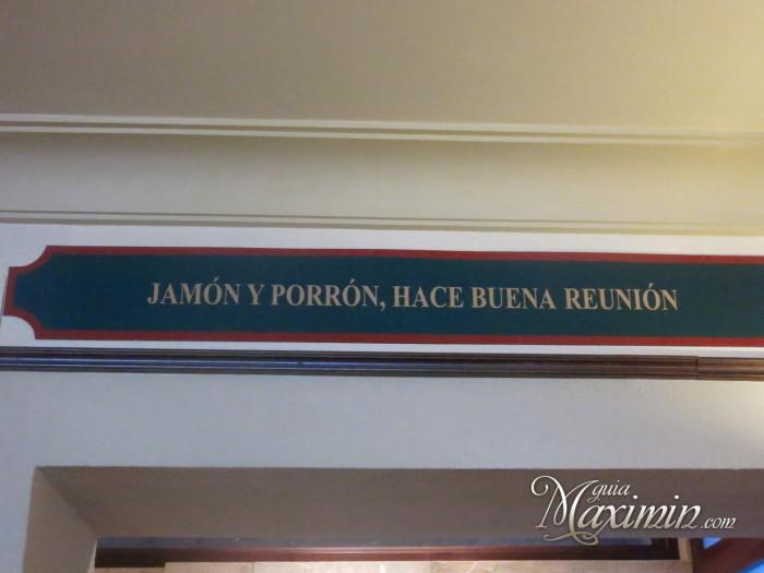 Jamón y Porrón