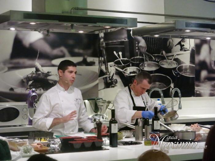 Hector Cancho y Javier Gonzalez de Medems catering