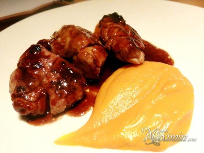Mollejas de ternera lechal rooster