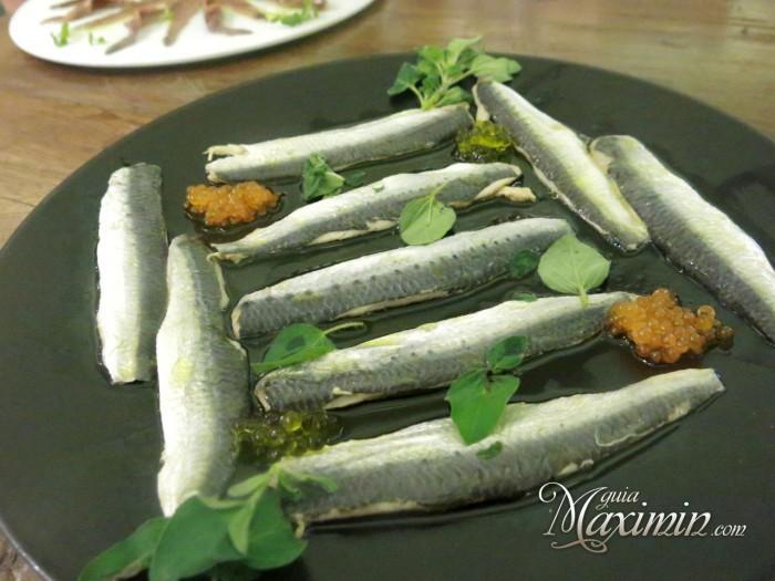 sardinas marinadas Casa Santoña