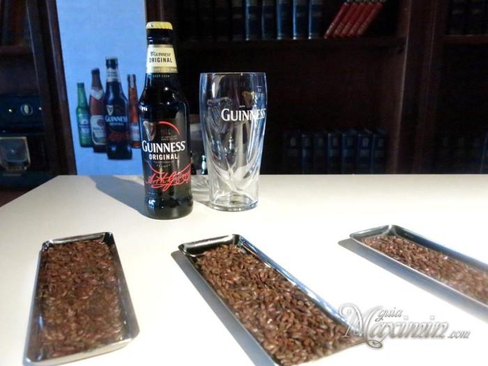Guinness y grano