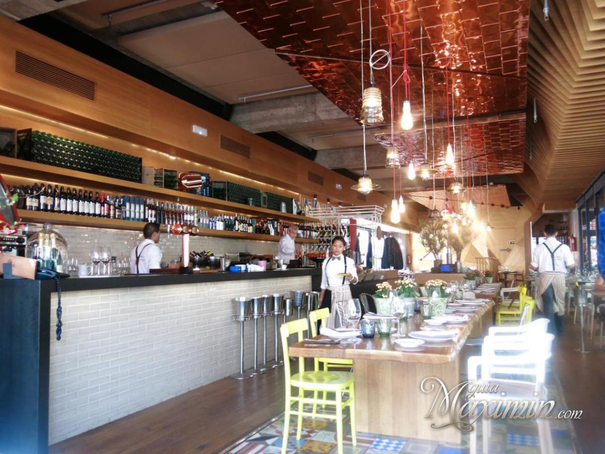 Cocina San Anton | La Gazpacheria Refresca La Cocina De San Anton Madrid