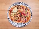 Pizza verduras frescas y mozzarella-Alcavalo