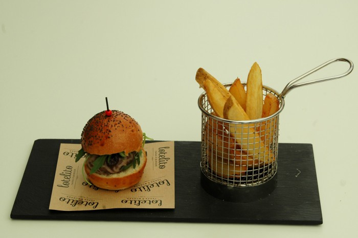 mini hamburguesa lotelito
