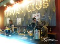 Barman Club de la coctelería de Platea