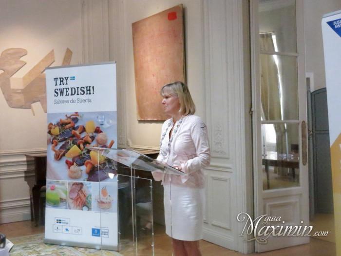 Cecilia Julin, embajadora de Suecia