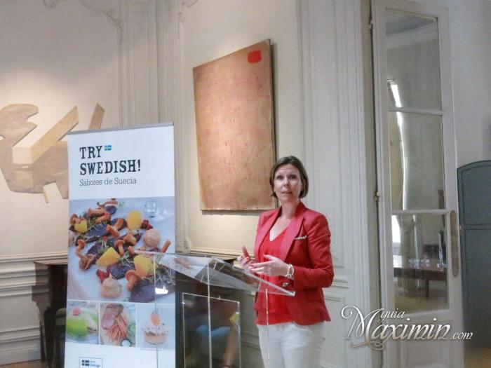 Malin Svensson Consejera comercial de Suecia