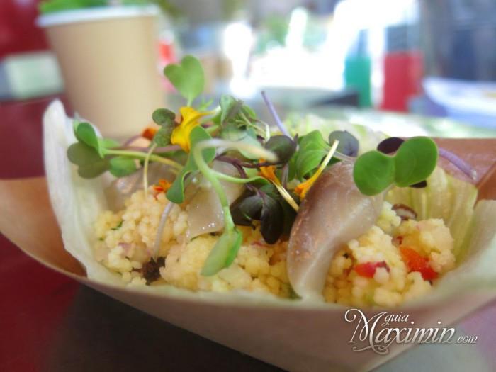 ensalada de couscous y verduras
