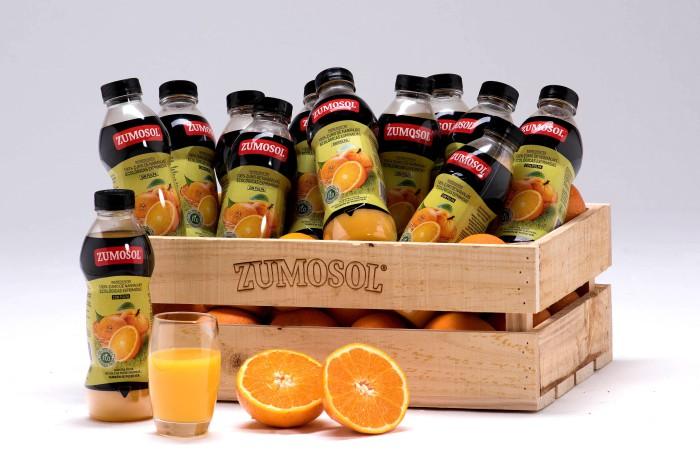 zumo de naranja Zumosol