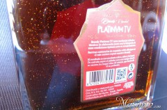 Brandy Platinum TV con oro de Tavasa