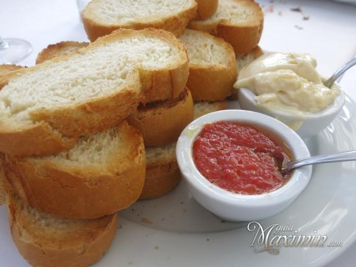 pan tostado tomate y ali-oli