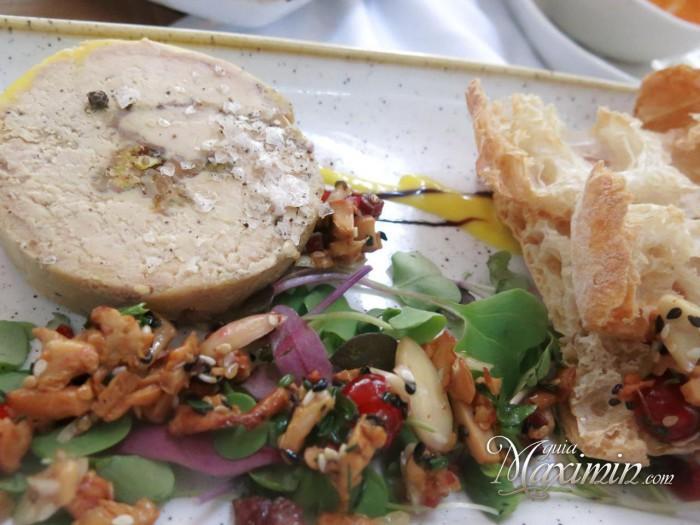 Arlequín de foie gras