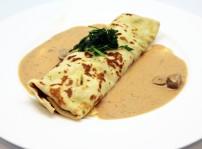 Crepe de pollo con champio¦ün_Lunch&Dinner
