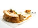 Pollo a la plancha con patata cremosa  y salsa de setas con cognac_Lunch&Dinner