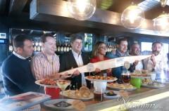 Presentación campeonato de pinchos Amstel Oro en su X Edición (Madrid)