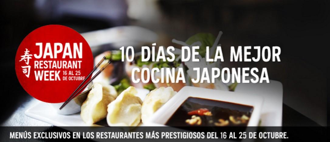 Japan Restaurant Week VI edición