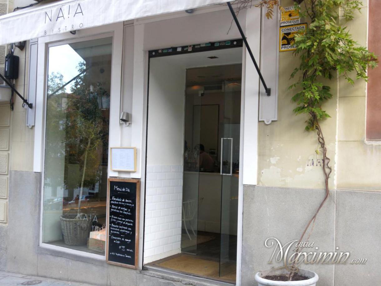 Naia Bistro – Para disfrutar en la mesa (Madrid)