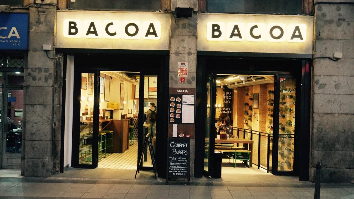 Bacoa: Mimando la hamburguesa (Madrid)