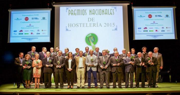 Foto de familia Premios 2015