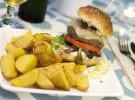 Hamburguesa Fisgón con patatas-El Patio del Fisgon Chamberi mail