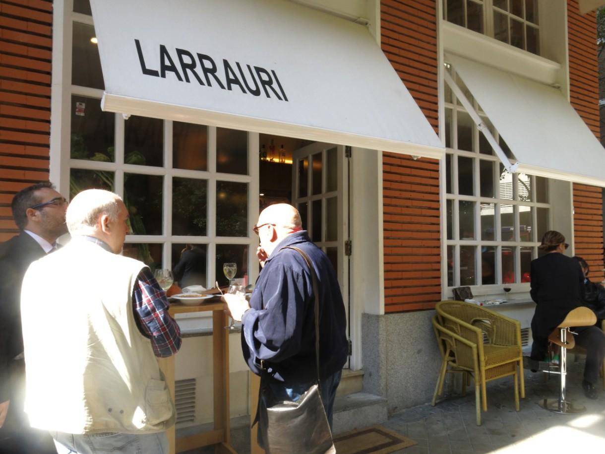Larrauri, auténtica cocina vasca (Madrid)