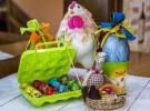 Huevos de Pascua varios tamaños, Pastelerías Lyon